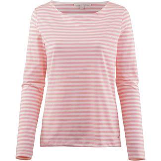 TOM TAILOR Langarmshirt Damen blush pink stripe