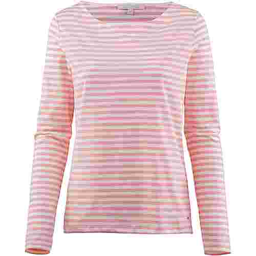 TOM TAILOR Langarmshirt Damen blush pink stripe