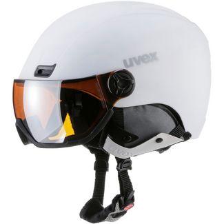 Uvex hlmt 400 visor style Visierhelm white mat