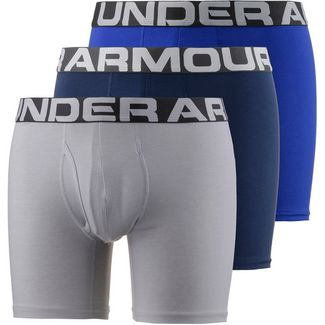 Under Armour CHARGED COTTON Boxer Herren royal