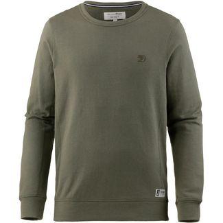 TOM TAILOR Sweatshirt Herren dusty olive green