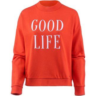 TOM TAILOR Sweatshirt Damen bright red