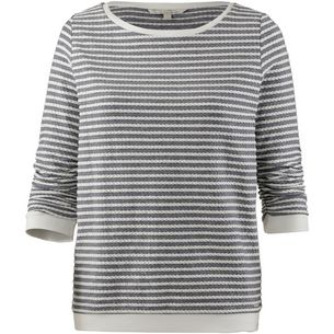 TOM TAILOR Sweatshirt Damen structure stripe