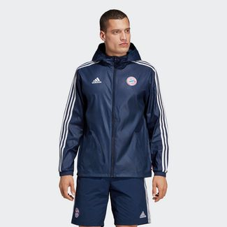 adidas FC Bayern München Windbreaker Trainingsjacke Herren Collegiate Navy / White