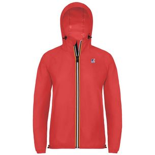 K-Way Regenjacke Damen Red Fluo