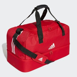 adidas Tiro Duffelbag M Sporttasche Herren Power Red / White