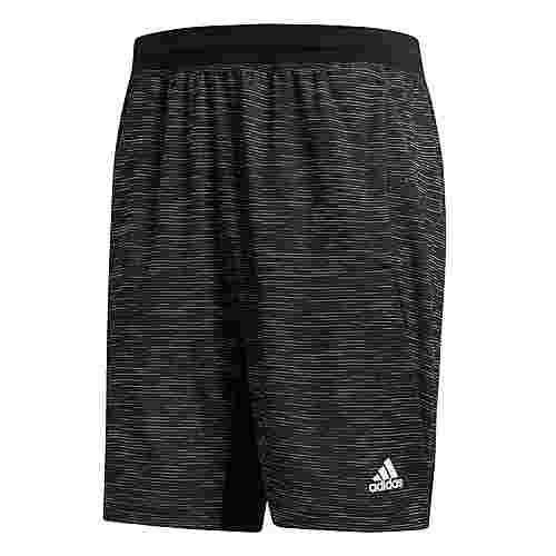 adidas 4KRFT Sport Striped Heather Shorts Funktionsshorts Herren Schwarz