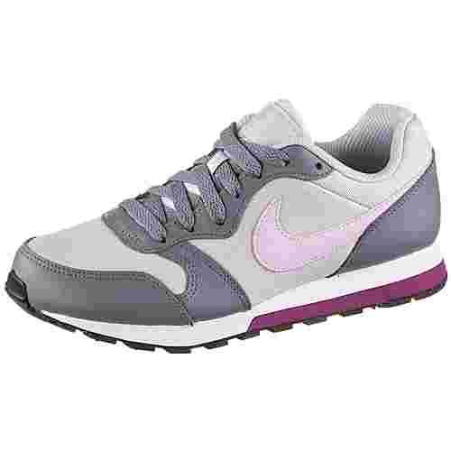 Nike MD Runner Sneaker Kinder pure-platinum-pink-foam-cool-grey-true-berry