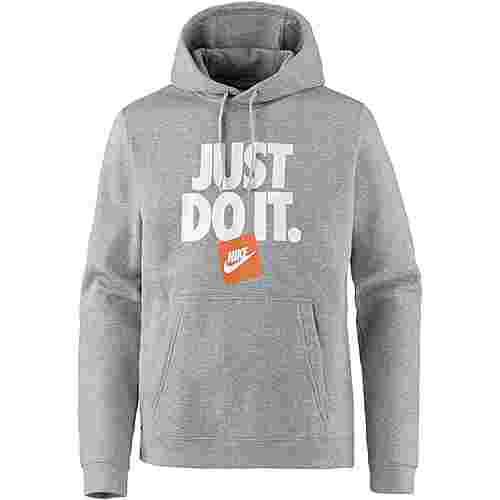 Nike NSW JDI Hoodie Herren dk grey heather