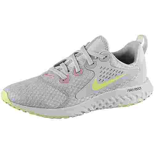 Nike Legend React Laufschuhe Kinder pure-platinum-barely-volt-platinum-tint-pink-rise