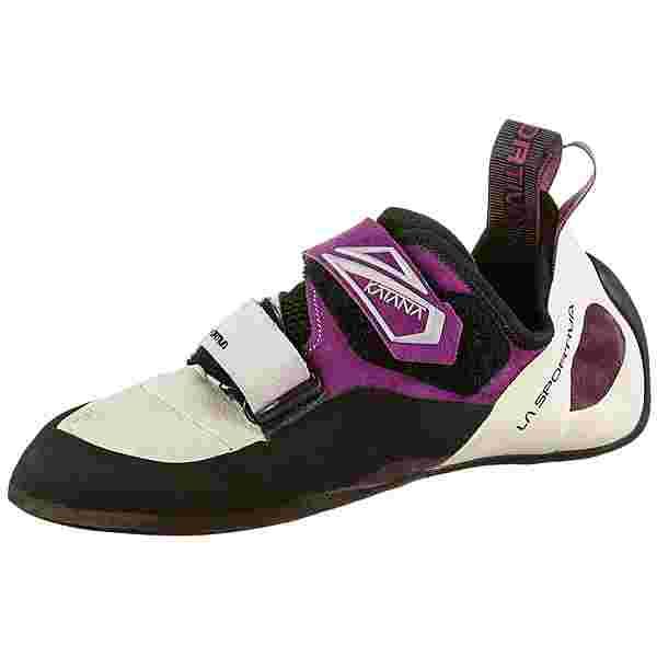 La Sportiva Katana Kletterschuhe Damen white-purple