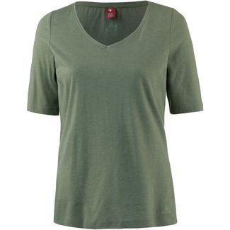 OCK V-Shirt Damen grün