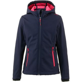 CMP Softshelljacke Kinder blue corallo