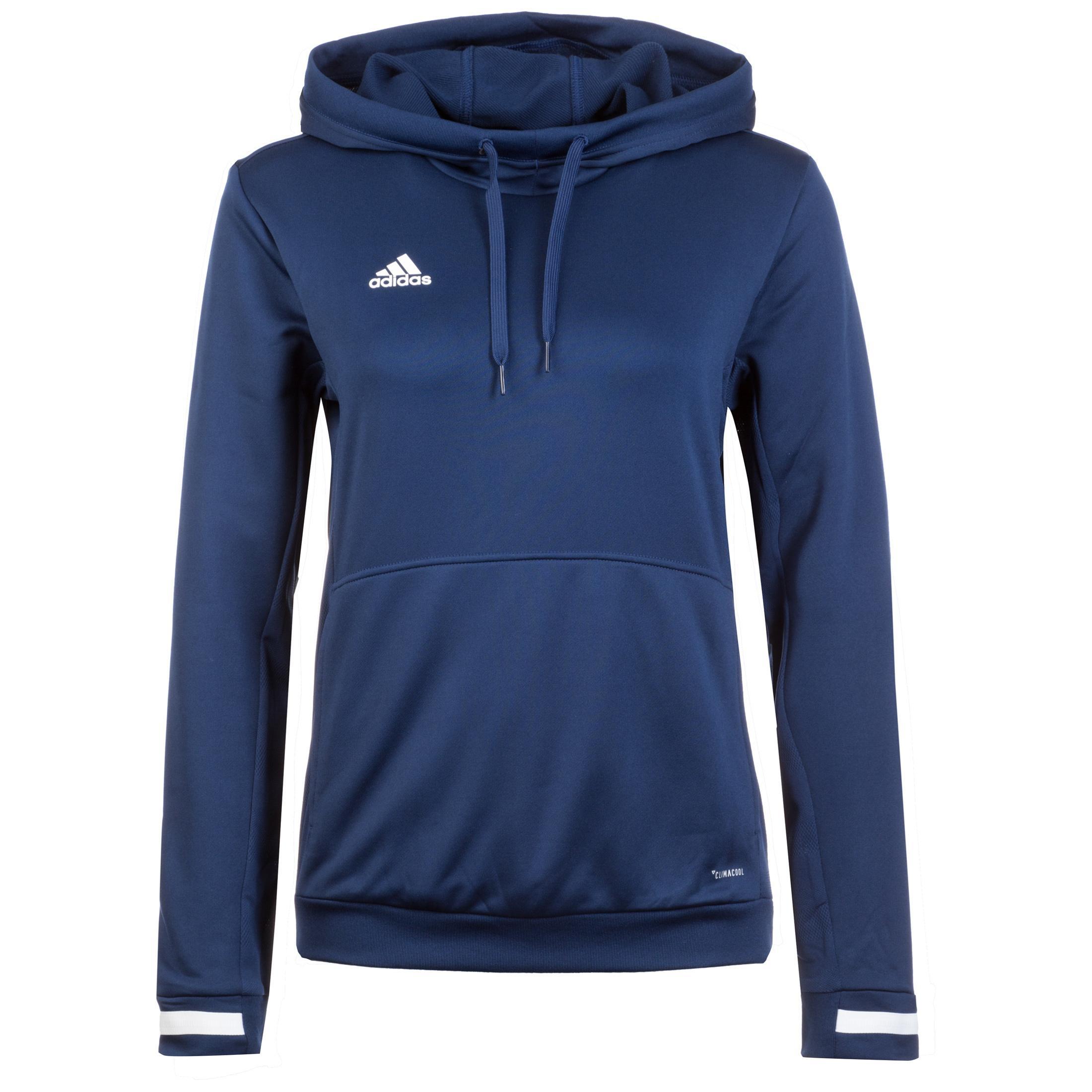 huge discount e354b afb45 adidas Team 19 Hoodie Damen blau / weiß im Online Shop von SportScheck  kaufen