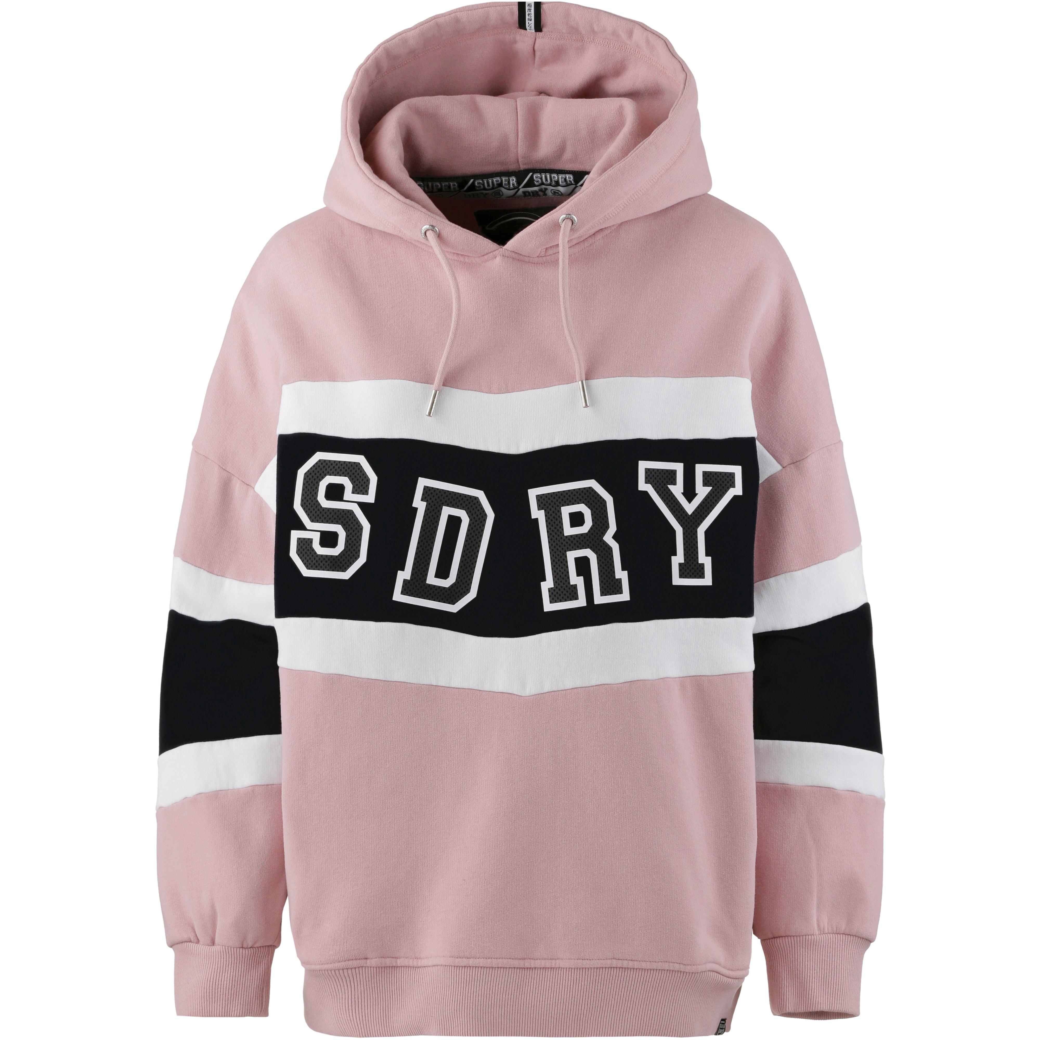 superdry shop aktuelle superdry trends online bei sportscheck kaufen  neu superdry hoodie damen brooke pink