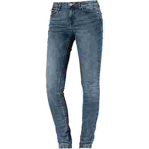 TOM TAILOR Jona Skinny Fit Jeans Damen mid stone wash denim