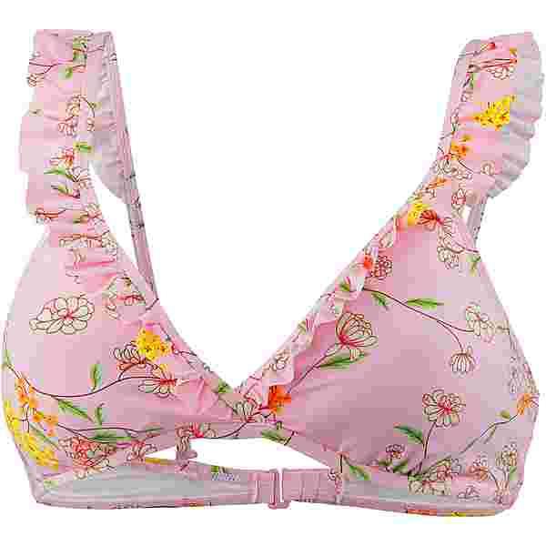 Maui Wowie Flower Bikini Oberteil Damen creme