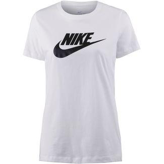 Nike NSW Icon Futura T-Shirt Damen white-black