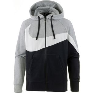 Nike NSW Sweatjacke Herren dark grey heather-white-black e4d64e1df1