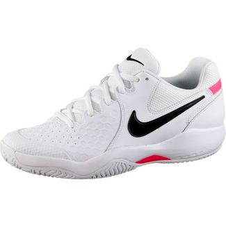 Nike AIR ZOOM RESISTANCE Tennisschuhe Herren white-black-bright crimson