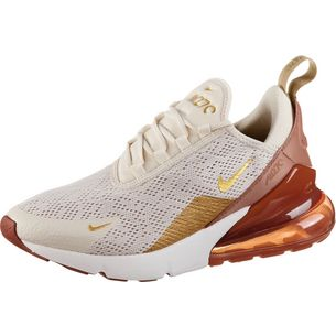 Nike Air Max 270 Sneaker Damen light cream-metallic gold