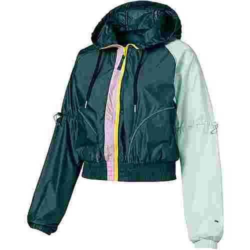 PUMA Cosmic Trainingsjacke Damen ponderosa pine-fair aqua