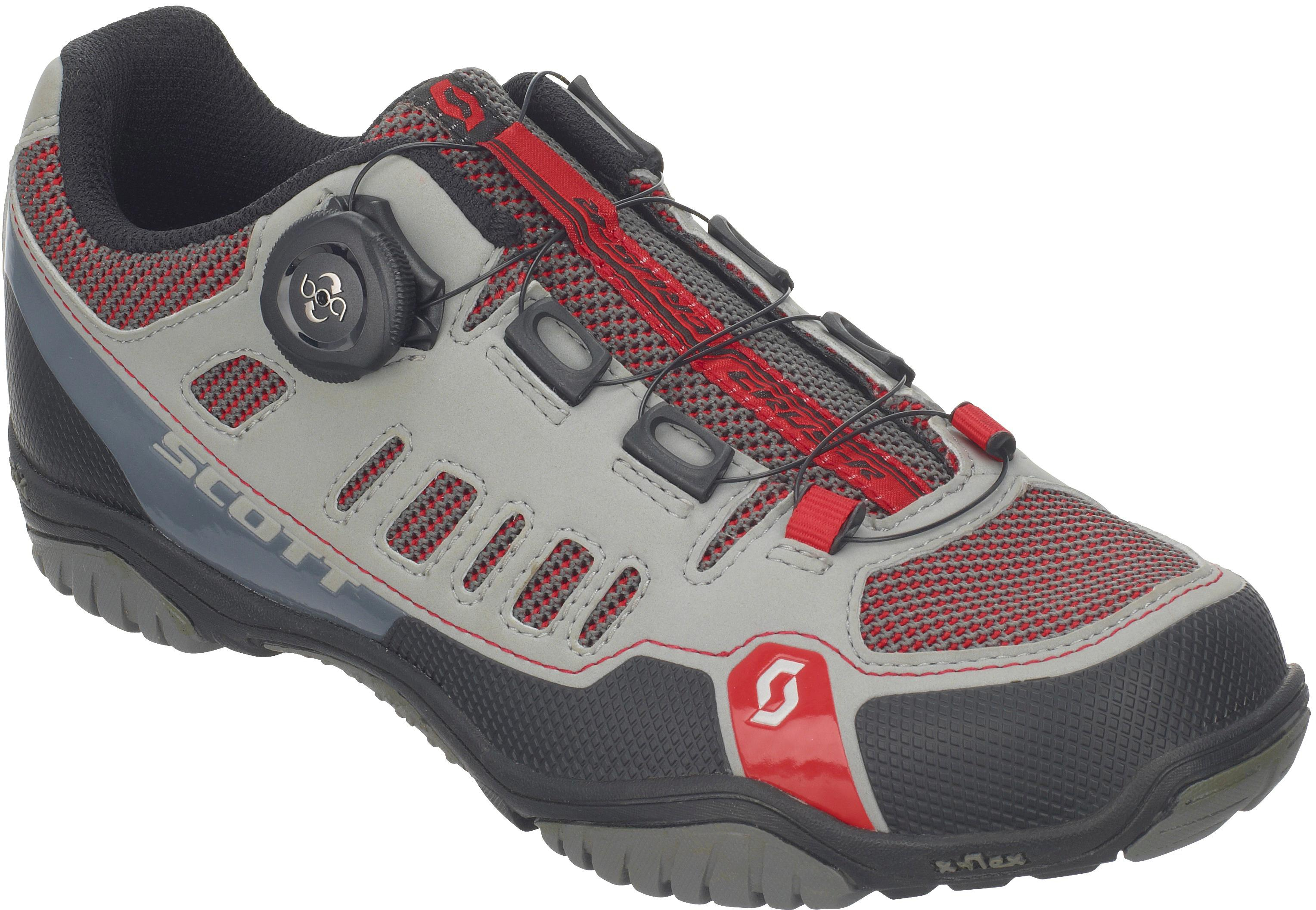 SCOTT Sport Crus-r Boa Fahrradschuhe Damen grau-rot im Online Shop von SportScheck kaufen Gute Qualität beliebte Schuhe
