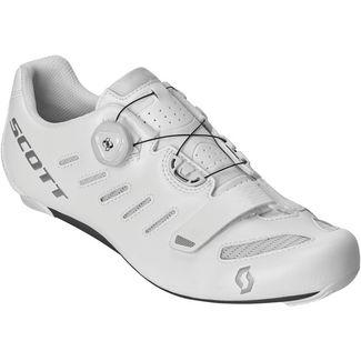 SCOTT Road Team Boa Fahrradschuhe white-silver