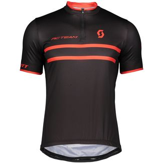 SCOTT RC Team 20 Fahrradtrikot Herren black-fire red