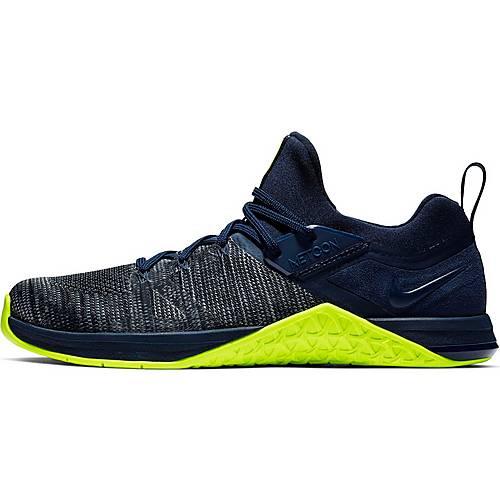 Nike Metcon Flyknit Fitnessschuhe Herren obsidian volt im Online Shop von SportScheck kaufen
