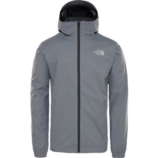 The North Face Quest Regenjacke Herren mid grey black heather