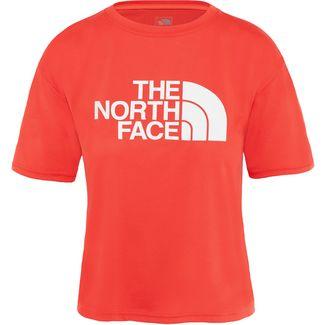 The North Face Train N Logo Croptop Damen juicy red