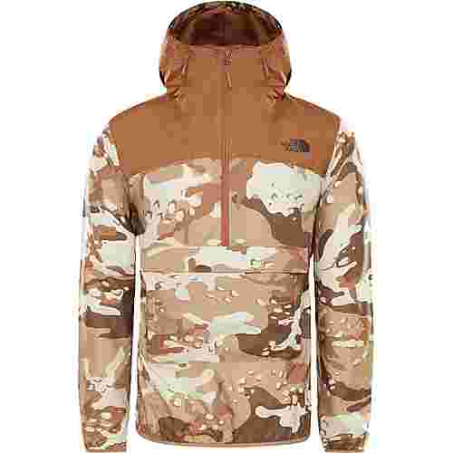 The North Face Novelty Windbreaker Herren moab khaki woodchip camo desert print-cargo khaki