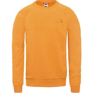 The North Face Raglan Simple Dome Sweatshirt Herren citrine yellow