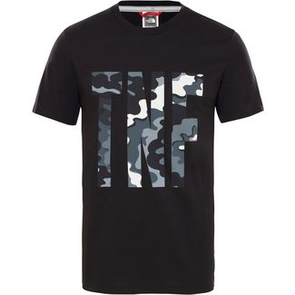 The North Face T-Shirt Herren tnf black psychedelic print