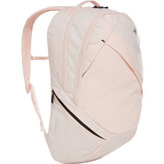The North Face Rucksack Isabella Daypack Damen pink salt light heather-tnf black