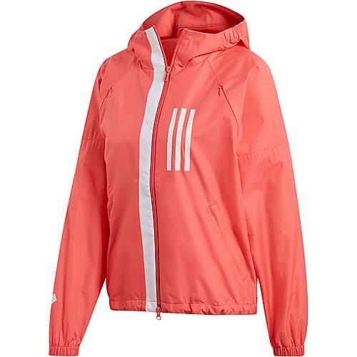 adidas WND Jacke Damen prism pink im Online Shop von SportScheck kaufen