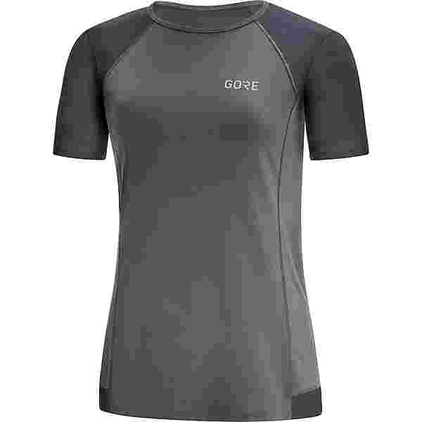 GORE® WEAR R5 Funktionsshirt Damen terra grey-black