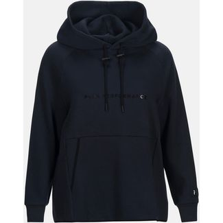 Peak Performance Hoodie Damen salute blue