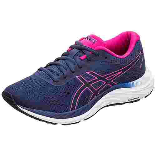 ASICS GEL-EXCITE 6 Laufschuhe Damen dunkelblau / pink