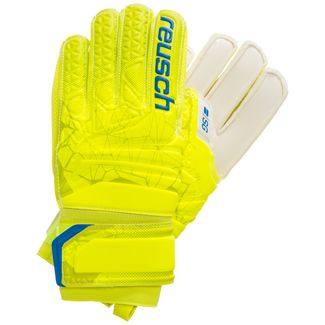 Reusch Fit Control SG Finger Support Junior Torwarthandschuhe neongelb / blau