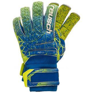 Reusch Fit Control Deluxe G3 Fusion Evolution Torwarthandschuhe Herren blau / neongelb