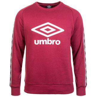 UMBRO Retro Taped Crew Sweatshirt Herren rot / weiß