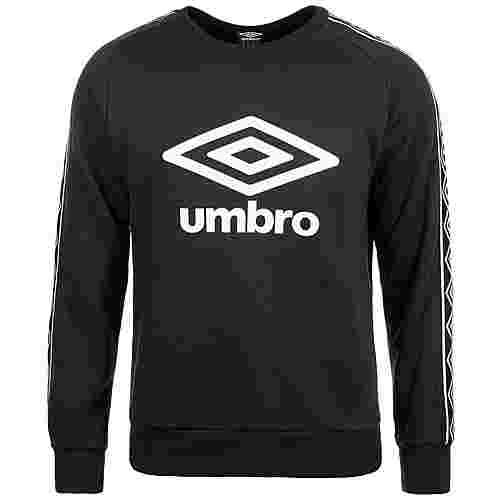 UMBRO Retro Taped Crew Sweatshirt Herren schwarz