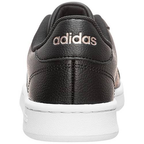 Adidas Grand Court Sneaker Damen schwarz / gold im Online ...