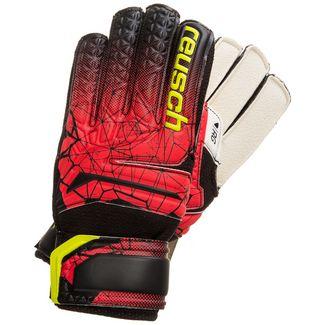 Reusch Fit Control RG Open Cuff Finger Support Torwarthandschuhe schwarz / rot