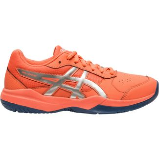 ASICS Gel Game Tennisschuhe Kinder papaya-silver