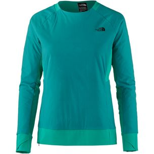 The North Face Funktionssweatshirt Damen green