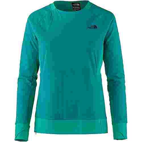 The North Face Funktionssweatshirt Damen green