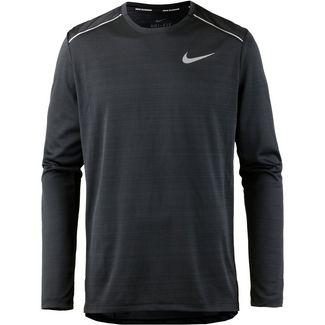 Nike Dry Miler Funktionsshirt Herren black-black-reflective silv